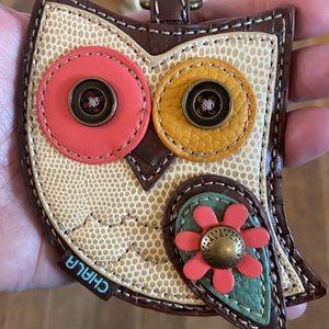 NEW Chala Owl key chain/coin purse